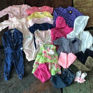 6 month lot of clothes! 20 items